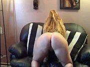 Casada amadora se exibindo mostrando o cuzão na webcam